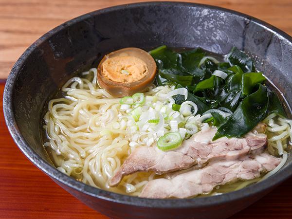 シャモラーメン(正油・塩)