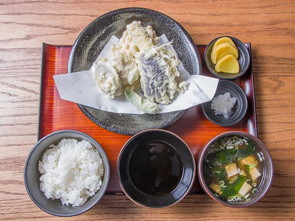 とり天ぷら定食